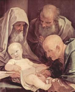 Beschneidung Christi von Guido Reni, 1630 - 40, San Martino, Siena