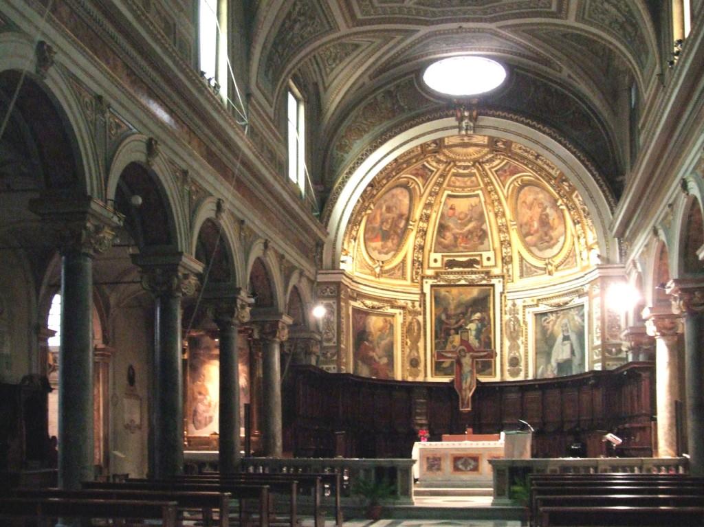 Santo Stefano del Cacco, Innenraum